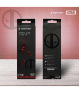 Marvel Deadpool Beasty Buds